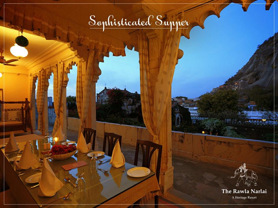 "Stepwell Dinner at Rawla Narlai – ""The Heritage Resort"""