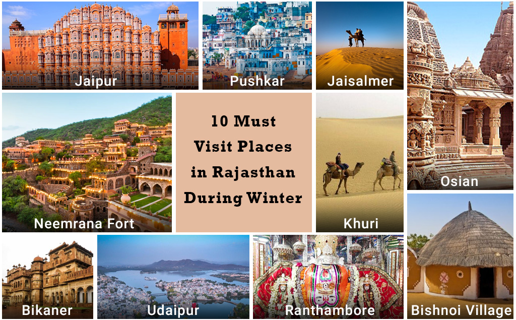 Best holidays destinations in Rajasthan