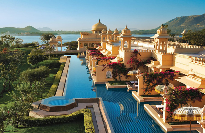 The Oberoi Udaivilas Palace